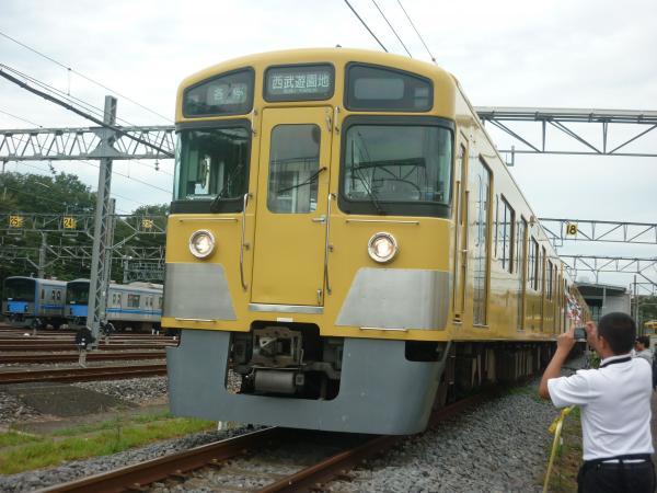 2013-08-24 西武2525F 各停西武遊園地