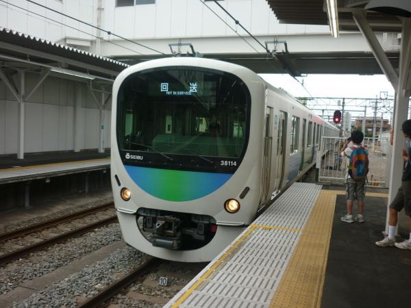 2013-08-24 西武38114F 回送2