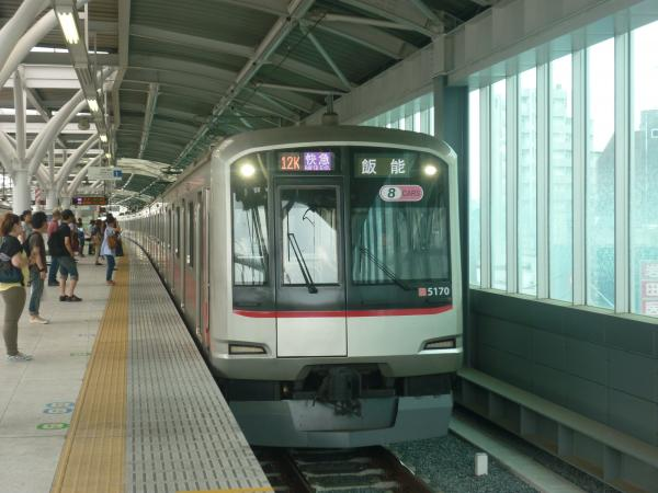 2013-08-24 東急5170F 快急飯能行き