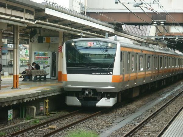 2013-08-25 中央線E233系トタT41編成 快速東京行き