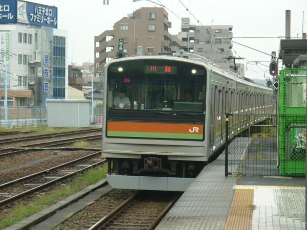 2013-08-25 八高線205系ハエ82編成 川越行き1