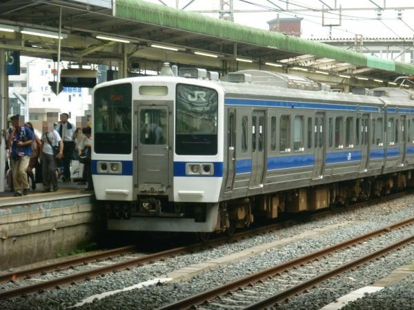 2013-08-25 水カツ415系1500番台 小山駅