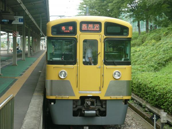 2013-08-26 西武2097F 各停西所沢行き