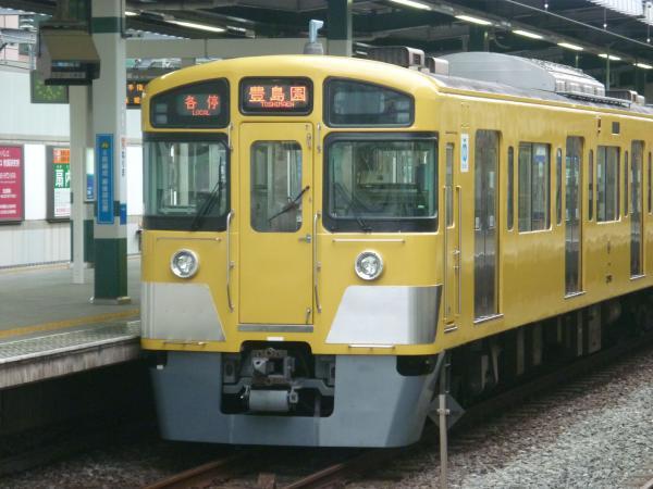 2013-08-26 西武2097F 各停豊島園行き