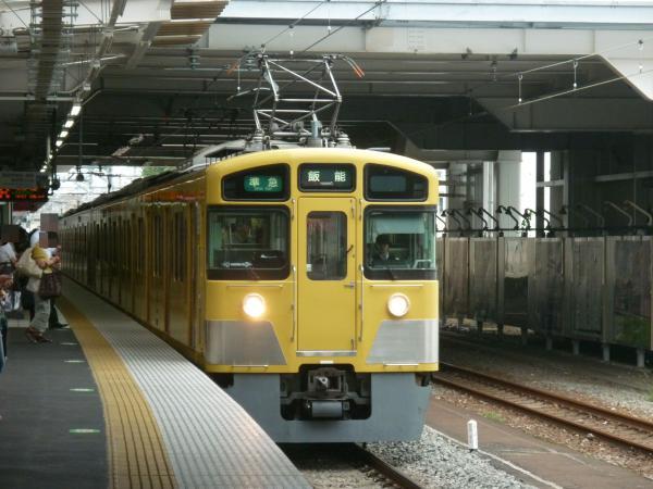 2013-08-26 西武2453F+2069F 準急飯能行き