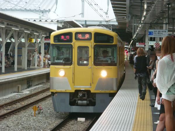 2013-08-26 西武2457F+2501F+2533F 急行池袋行き2