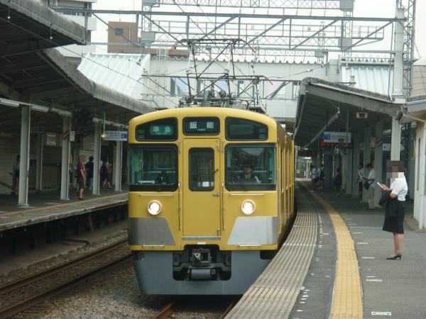 2013-08-26 西武2461F+2075F 準急飯能行き