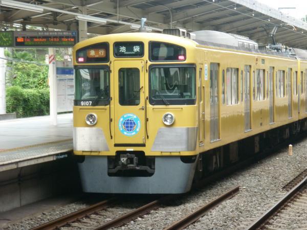 2013-08-26 西武9107F 急行池袋行き