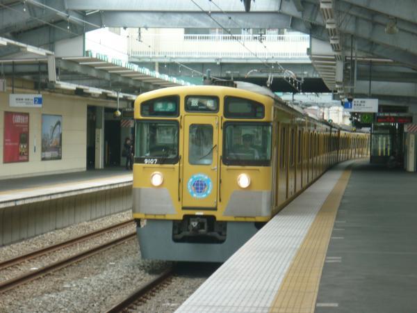 2013-08-26 西武9107F 準急飯能行き