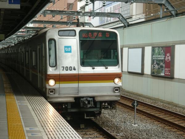 2013-08-26 メトロ7104F 各停保谷行き