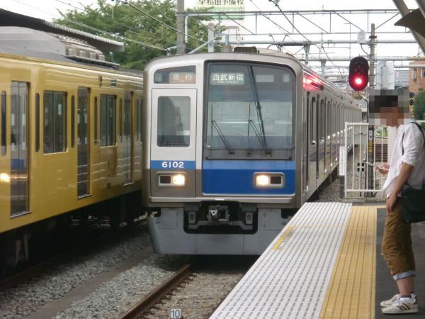 2013-08-26 西武6102F 急行西武新宿行き