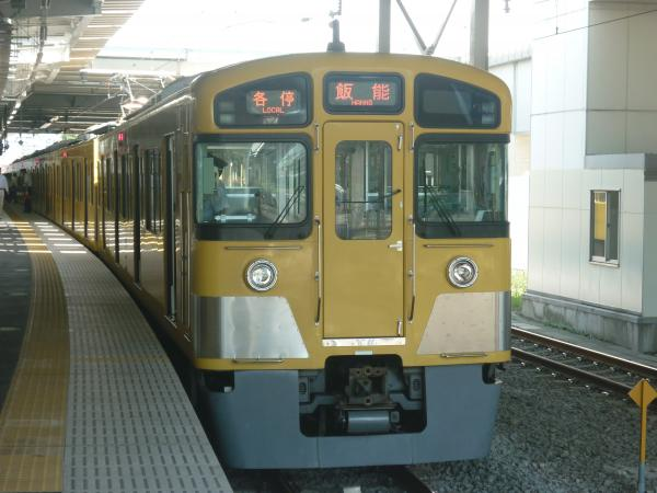 2013-08-28 西武2085F 各停飯能行き2