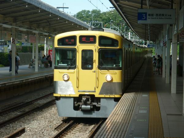 2013-08-28 西武2087F 各停飯能行き1