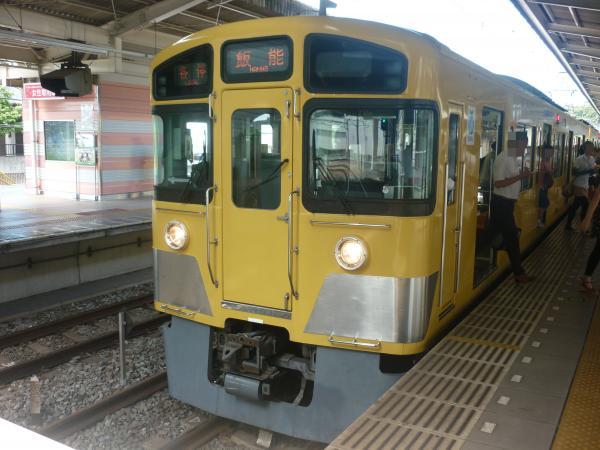2013-08-28 西武2087F 各停飯能行き2