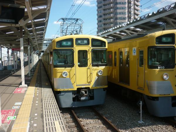 2013-08-28 西武2463F+2079F 準急池袋行き
