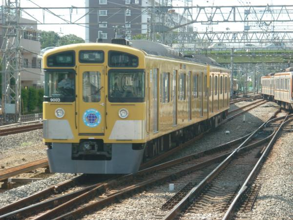 2013-08-28 西武9103F 準急飯能行き