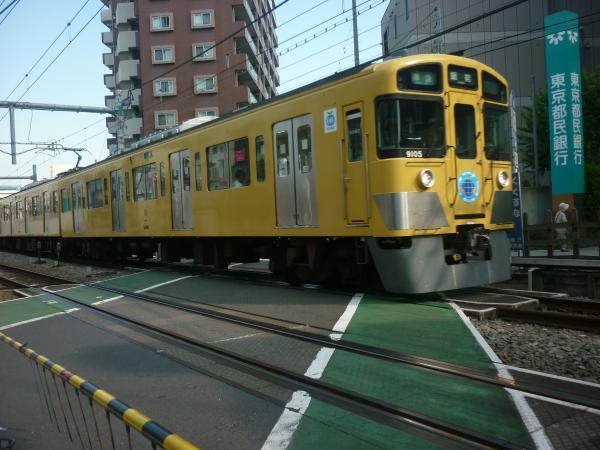 2013-08-28 西武9105F 準急飯能行き3
