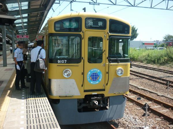 2013-08-28 西武9107F 準急池袋行き