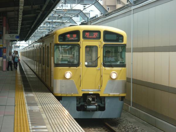 2013-08-29 西武2085F 各停所沢行き
