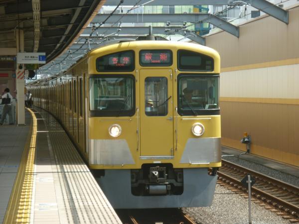 2013-08-29 西武2087F 各停飯能行き2