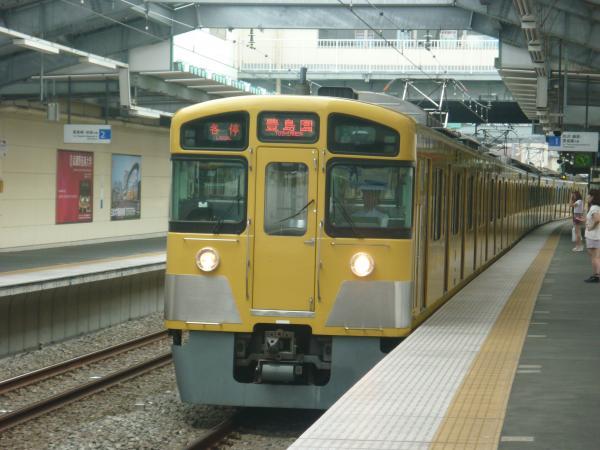 2013-08-29 西武2087F 各停豊島園行き