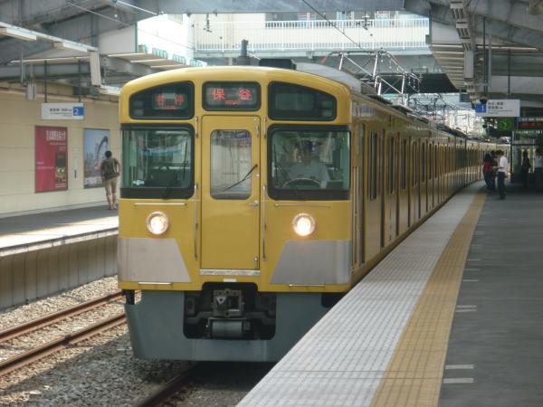 2013-08-29 西武2089F 各停保谷行き1