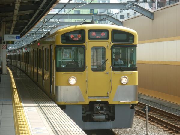 2013-08-29 西武2089F 各停保谷行き2