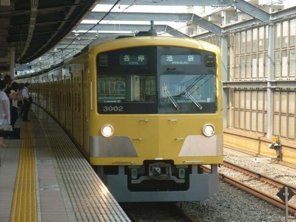 2013-08-29 西武3001F 各停池袋行き