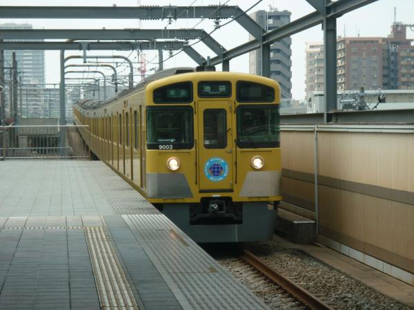 2013-08-29 西武9103F 準急池袋行き