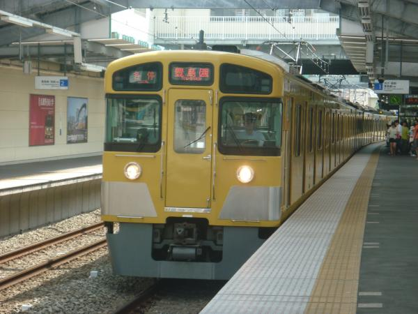 2013-08-30 西武2083F 各停豊島園行き
