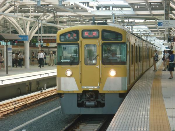 2013-08-30 西武2085F 各停飯能行き1