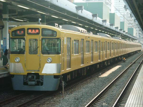 2013-08-30 西武2087F 各停豊島園行き2