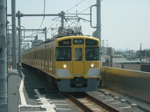 2013-08-30 西武2453F+2069F 急行飯能行き
