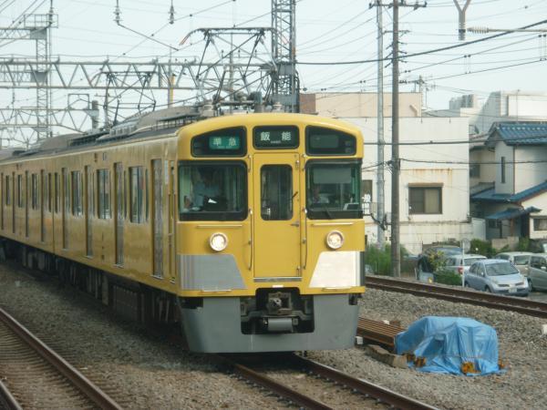 2013-08-30 西武2463F+2079F 準急飯能行き