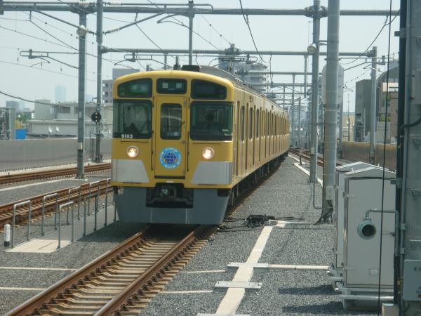 2013-08-30 西武9103F 準急飯能行き1