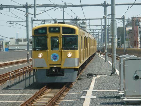 2013-08-30 西武9107F 準急飯能行き1