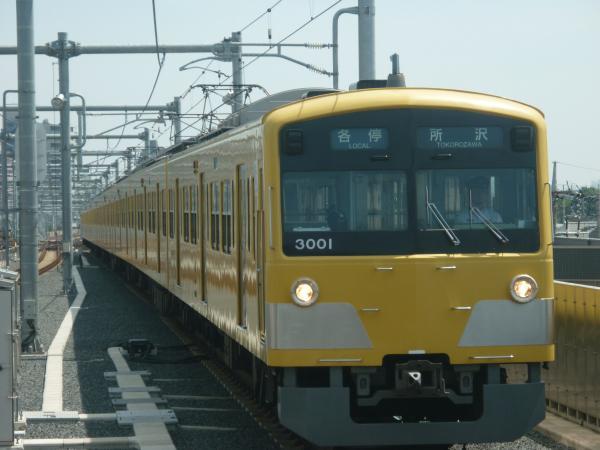2013-08-30 西武3001F 各停所沢行き
