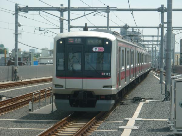 2013-08-30 東急5154F 各停石神井公園行き