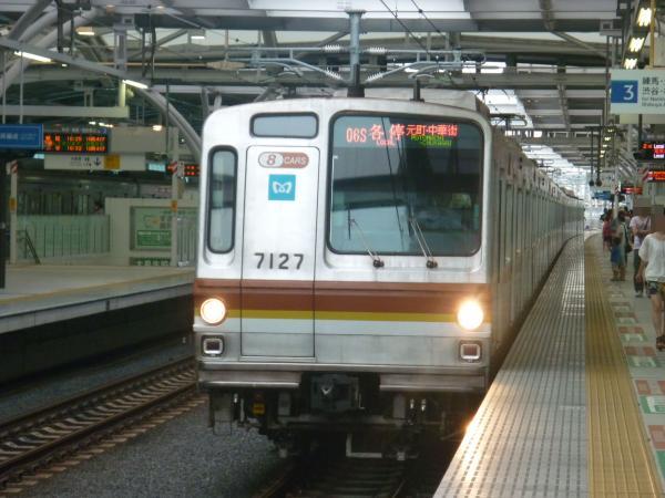 2013-09-14 メトロ7127F 各停元町・中華街行き1