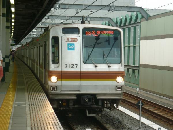2013-09-14 メトロ7127F 各停元町・中華街行き2
