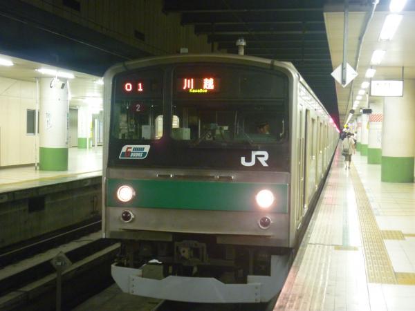 2013-08-04 埼京線205系ハエ2編成 川越行き2
