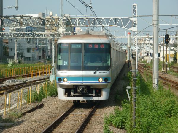 2013-09-21 メトロ07-104F 西船橋行き