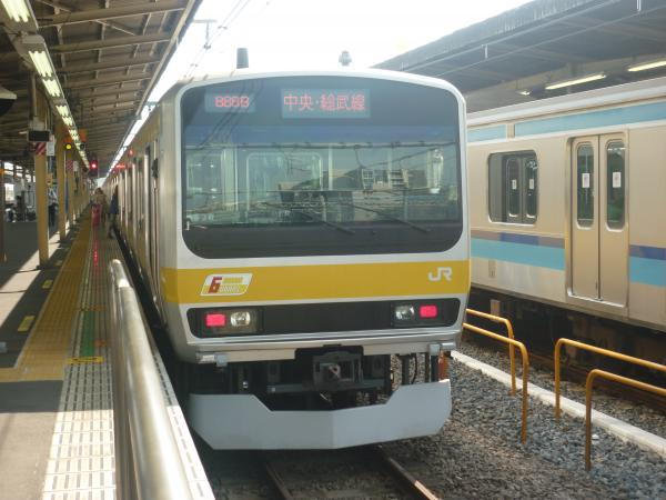 2013-09-21 中央・総武線E231系ミツB30編成 千葉行き2
