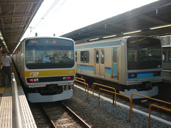 2013-09-21 中央・総武線E231系ミツB33編成 E231系800番台