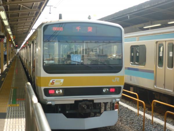 2013-09-21 中央・総武線E231系ミツB33編成 千葉行き2