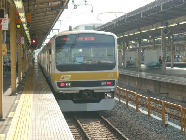 2013-09-21 中央・総武線E231系ミツB33編成 千葉行き3