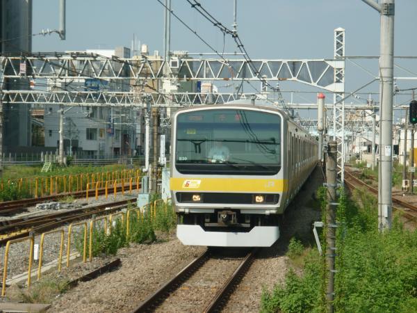 2013-09-21 中央・総武線E231系ミツB39編成 千葉行き1