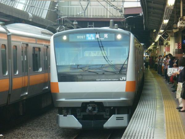 2013-09-21 中央線E233系トタT19編成 中央特快高尾行き