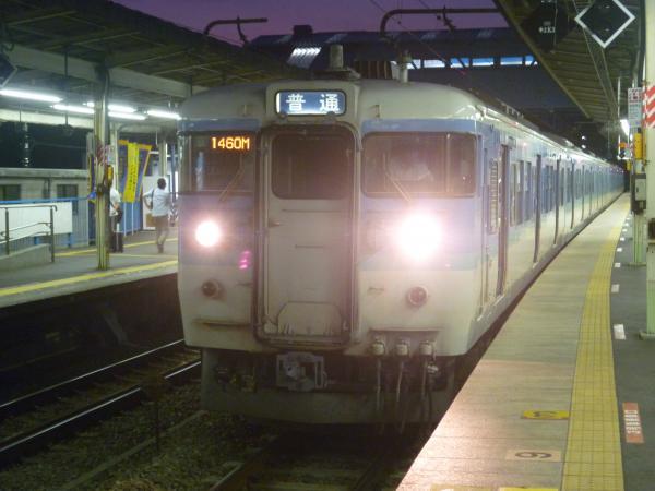 2013-09-21 中央本線115系 高尾行き