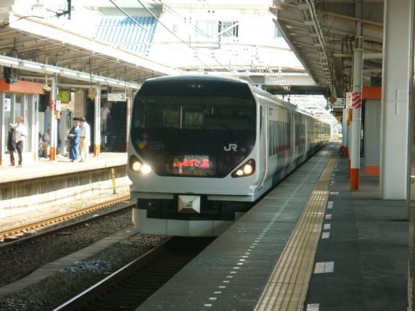2013-09-21 中央本線E257系 あずさ号松本行き2